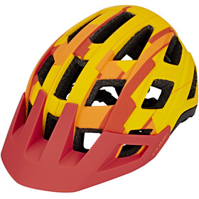 Cube Badger Bike Helmet yellow/orange